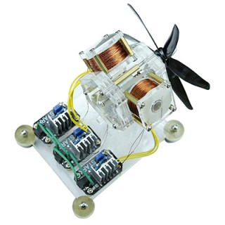 Stark Brushless Motor Hall Sensor Electric Machine Triple Coil Fan Blade High Speed DIY Physical Model