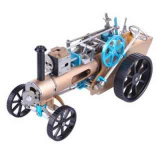 Steam Car Model   Full Metal Model Toy Collection Gift Decor All-metal High Challenge Assembled Kit