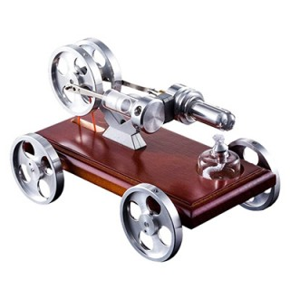 Kit DIY  Car Model Kit With Solid Wood Baseplate